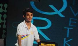 Nam sinh Tiền Giang vô địch Đường lên đỉnh Olympia 2014